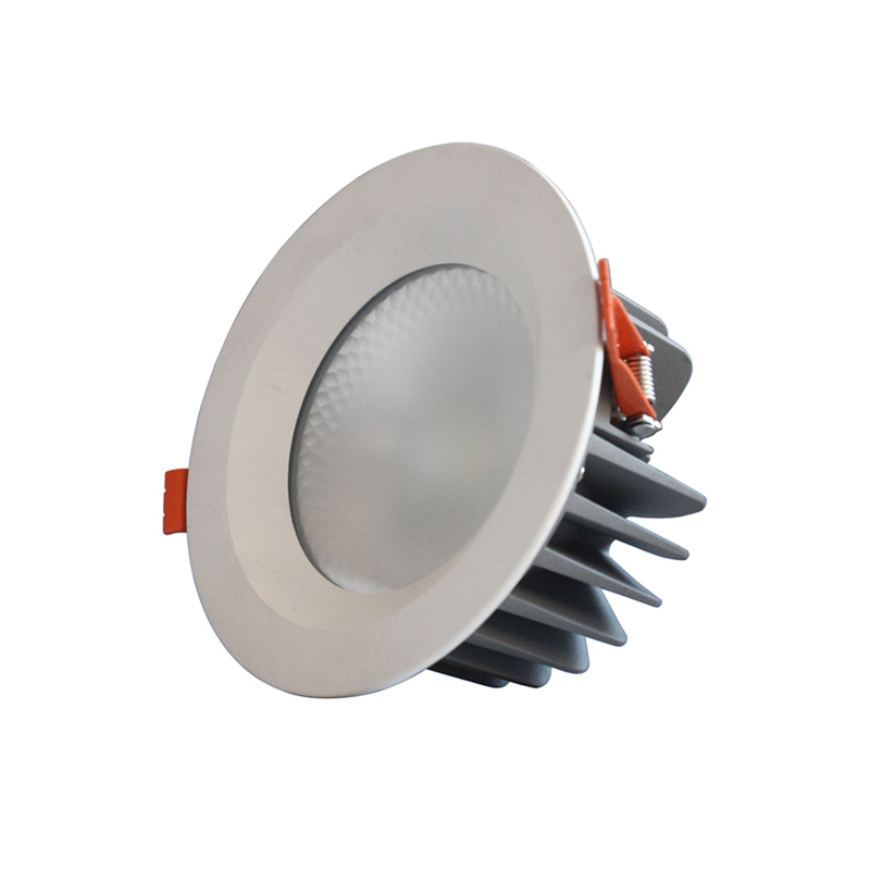 recessed led downlight insulation