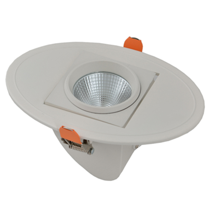 middle square trunk downlight