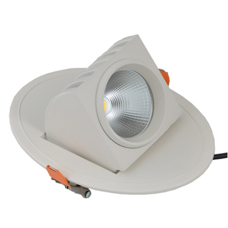 10w led trunk downlight square