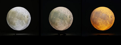 rechargeable moon night light