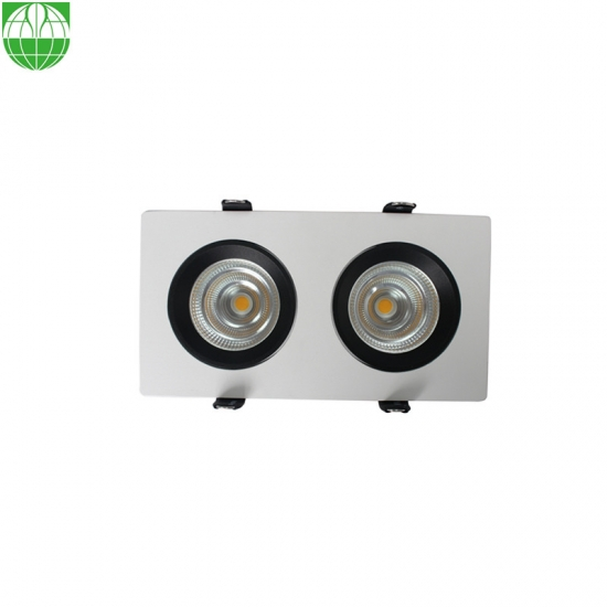 2 Heads Ceiling Downlight Lamp