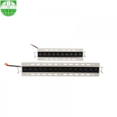 Recessed 10 Heads Trimless Linear Downlight