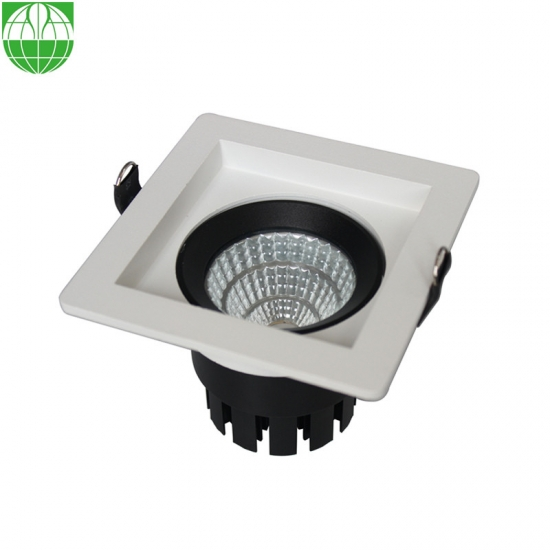 High Quality Recessed Square Adjustable Led Cob Ceiling