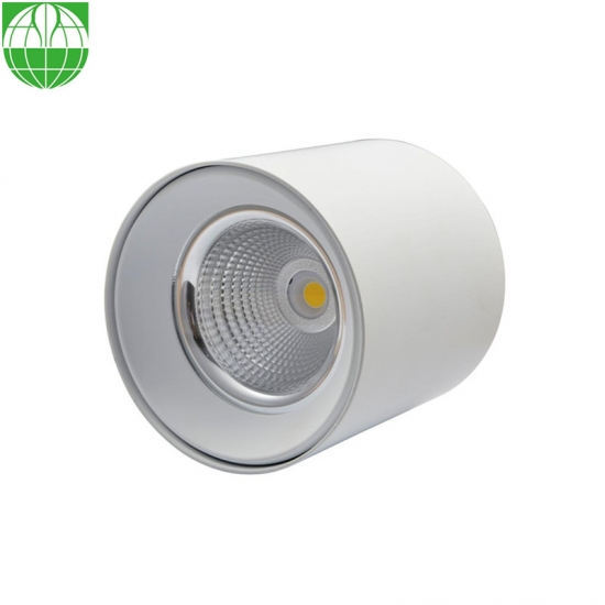 White Surface Mounted Round Downlights