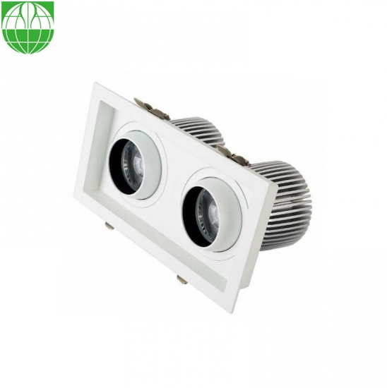 LED Adjustable Eyeball Downlight Retrofit