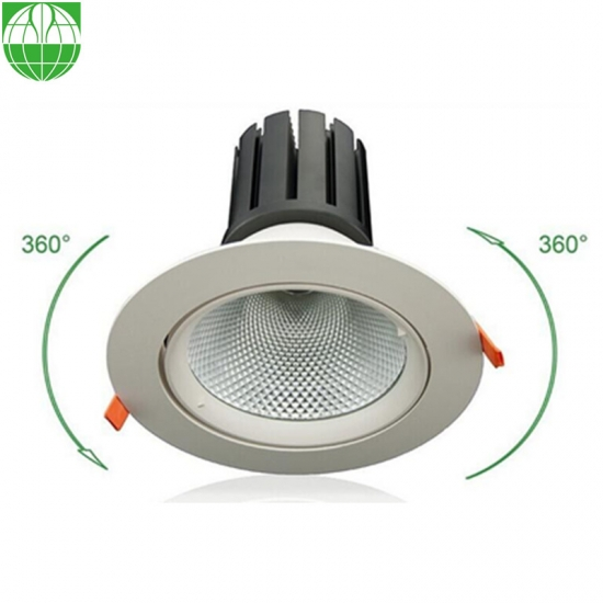 6 Inch Recessed Gimbal LED Downlight Kit