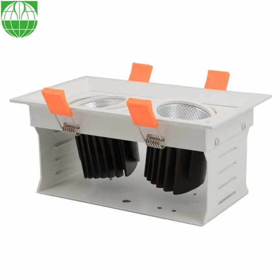 2 Heads Led Grille Lamp 12W